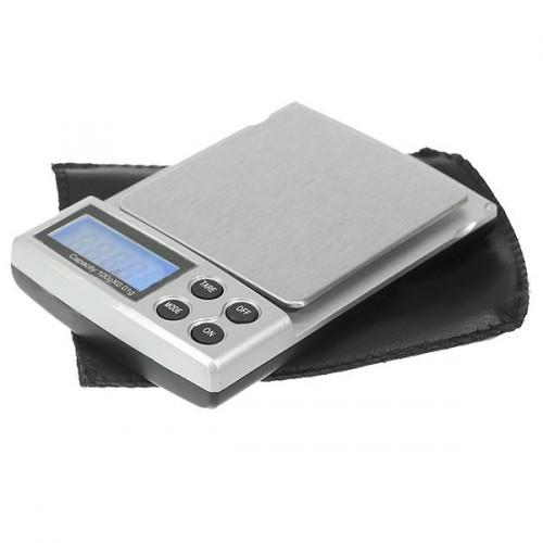 Presná digitálna vrecková váha max 100g presnosť 0,01g