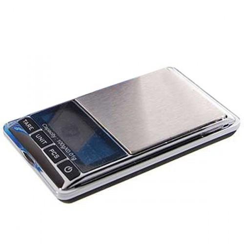 Mini presná digitálna vrecková váha 100g Max / 0,01g